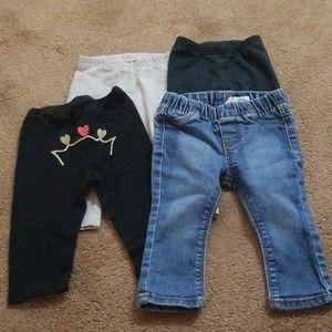 Girls pants lot